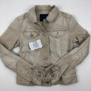 Martin and Osa Khaki Jean Jacket